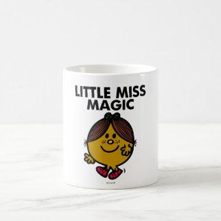 Little Miss Magic | Black Lettering Basic White Mug