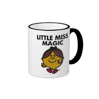 Little Miss Magic | Black Lettering Ringer Mug