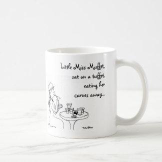 Little Miss Muffet, Basic White Mug