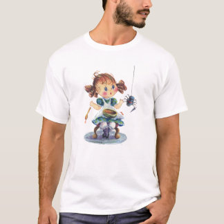 LITTLE MISS MUFFET by SHARON SHARPE T-Shirt