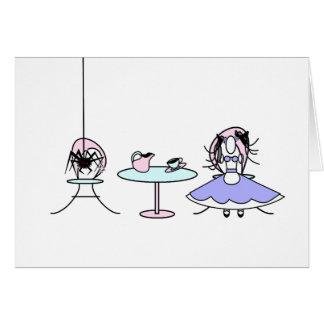 Little Miss Muffet Card
