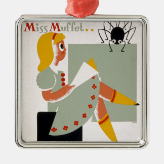 Little Miss Muffet Christmas Tree Ornaments