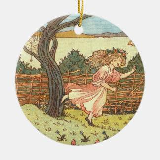 """""""Little Miss Muffet"""" Christmas Ornament"""