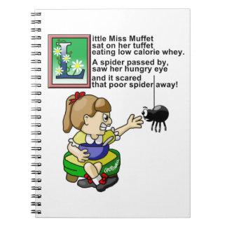 Little Miss Muffet Journals