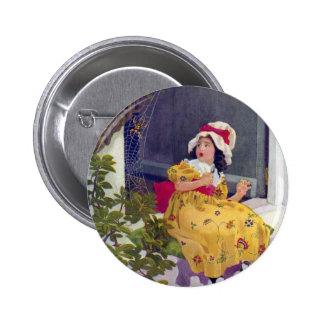 Little Miss Muffet Nursery Rhyme Buttons