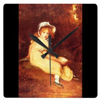 Little Miss Muffet', Sir John_Portraits Clocks
