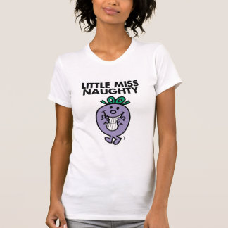 Little Miss Naughty | Huge Smile Tee Shirt