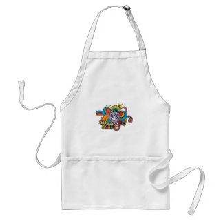 Little Miss Naughty Rainbow Standard Apron