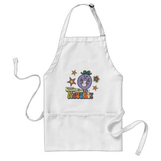 Little Miss Naughty Stars and Flowers Aprons