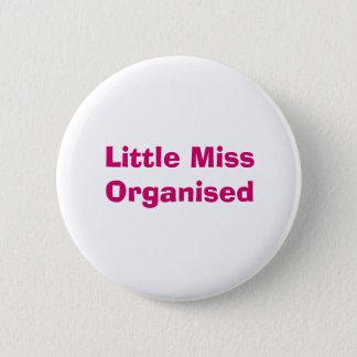 Little Miss Organised Badge