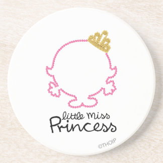 Little Miss Princess | Blank Face Coaster
