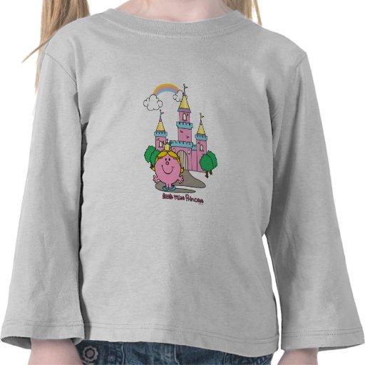 Little Miss Princess & Castle 1 T Shirt