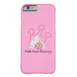 Little Miss Princess | Giant Pink Crown Barely There iPhone 6 Case