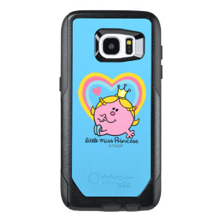 Little Miss Princess | Hearts OtterBox Samsung Galaxy S7 Edge Case