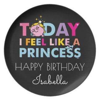 Little Miss Princess | I Feel Like A Princess Plate