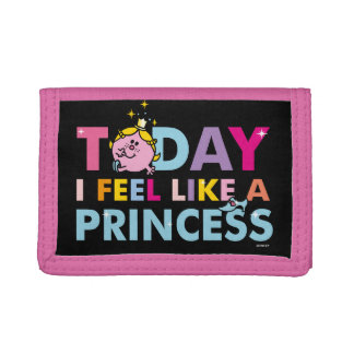 Little Miss Princess | I Feel Like A Princess Tri-fold Wallet