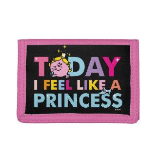 Little Miss Princess | I Feel Like A Princess Tri-fold Wallet