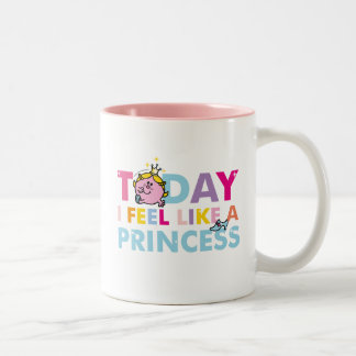 Little Miss Princess | I Feel Like A Princess Two-Tone Coffee Mug