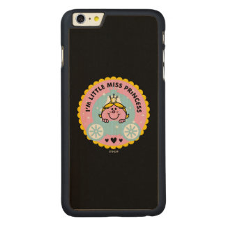 Little Miss Princess | I'm A Princess Carved Maple iPhone 6 Plus Case