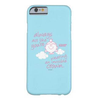 Little Miss Princess | Invisible Crown Barely There iPhone 6 Case