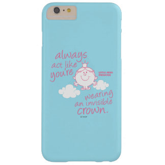 Little Miss Princess | Invisible Crown Barely There iPhone 6 Plus Case