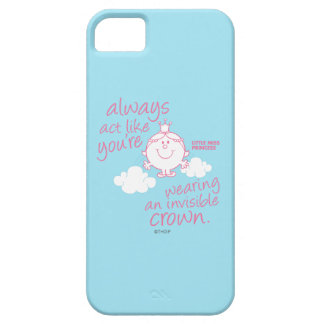 Little Miss Princess | Invisible Crown iPhone 5 Cases