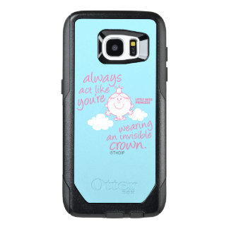 Little Miss Princess | Invisible Crown OtterBox Samsung Galaxy S7 Edge Case
