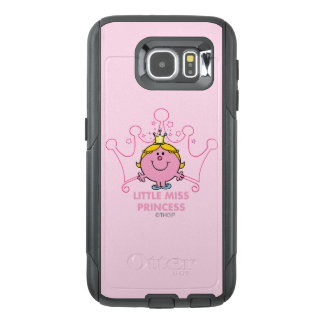 Little Miss Princess | Pink Five Pointed Crown OtterBox Samsung Galaxy S6 Case