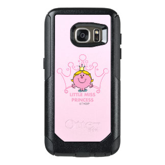 Little Miss Princess | Pink Five Pointed Crown OtterBox Samsung Galaxy S7 Case