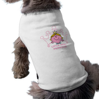 Little Miss Princess | Pink Five Pointed Crown Shirt