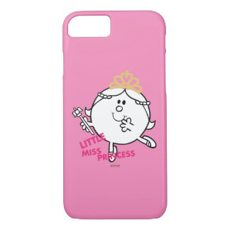 Little Miss Princess | Pink Lettering iPhone 8/7 Case