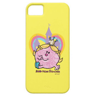Little Miss Princess Posing With Castle & Heart iPhone 5 Cases