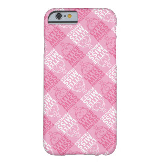 Little Miss Princess | Pretty In Pink Pattern Barely There iPhone 6 Case