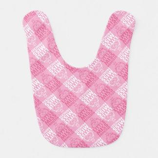 Little Miss Princess | Pretty In Pink Pattern Bib