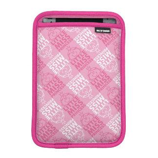 Little Miss Princess | Pretty In Pink Pattern iPad Mini Sleeve