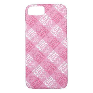Little Miss Princess | Pretty In Pink Pattern iPhone 8/7 Case
