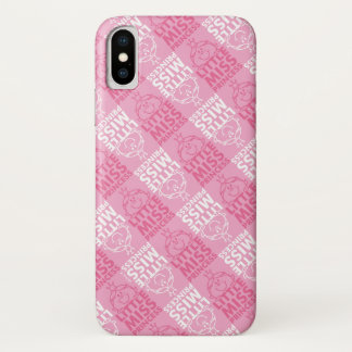 Little Miss Princess | Pretty In Pink Pattern iPhone X Case