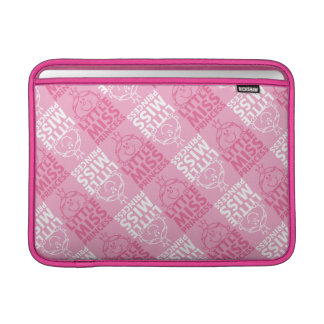 Little Miss Princess | Pretty In Pink Pattern MacBook Air Sleeve