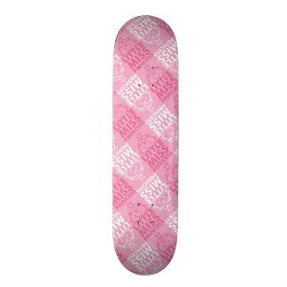 Little Miss Princess | Pretty In Pink Pattern Skateboard Decks