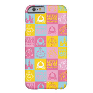 Little Miss Princess | Pretty Pastel Pattern Barely There iPhone 6 Case