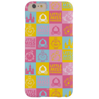 Little Miss Princess | Pretty Pastel Pattern Barely There iPhone 6 Plus Case