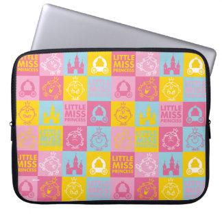 Little Miss Princess | Pretty Pastel Pattern Laptop Sleeve