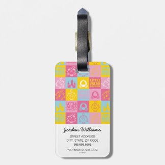 Little Miss Princess | Pretty Pastel Pattern Luggage Tag