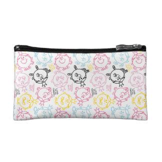 Little Miss Princess | Pretty Pastels Pattern Makeup Bag