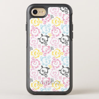Little Miss Princess | Pretty Pastels Pattern OtterBox Symmetry iPhone 8/7 Case