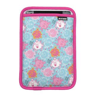 Little Miss Princess | Pretty Pink & Blue Pattern iPad Mini Sleeve