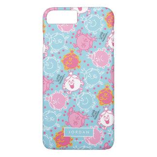 Little Miss Princess | Pretty Pink & Blue Pattern iPhone 7 Plus Case