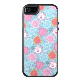 Little Miss Princess | Pretty Pink & Blue Pattern OtterBox iPhone 5/5s/SE Case