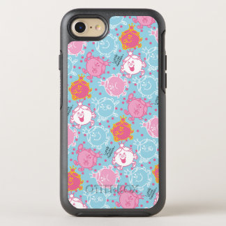 Little Miss Princess | Pretty Pink & Blue Pattern OtterBox Symmetry iPhone 8/7 Case