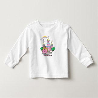 Little Miss Princess | Royal Castle Toddler T-Shirt